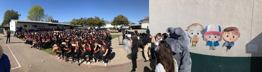 First Semester Honor Roll Assembly