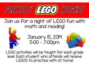 Lego Night Information