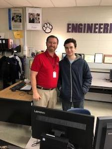 Congratulations to STAR Student Aidan Donelan and STAR teacher Jonathan Roy Thumbnail Image