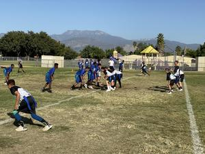 DMS Flag Football Versus Acacia