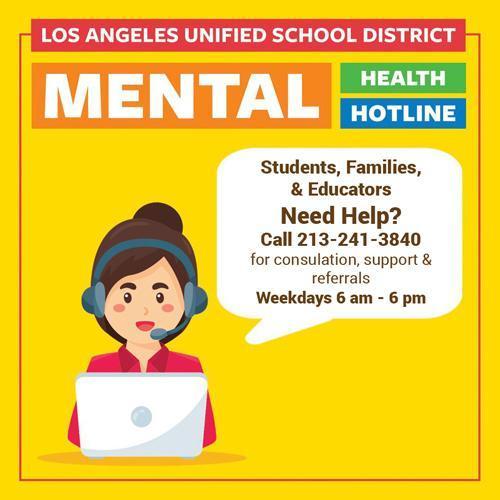 LAUSD Mental Health Services | Servicios de Salud Mental Featured Photo