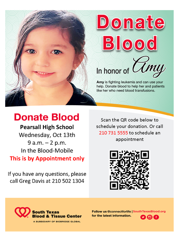 PHS Blood Drive 10/13 Thumbnail Image