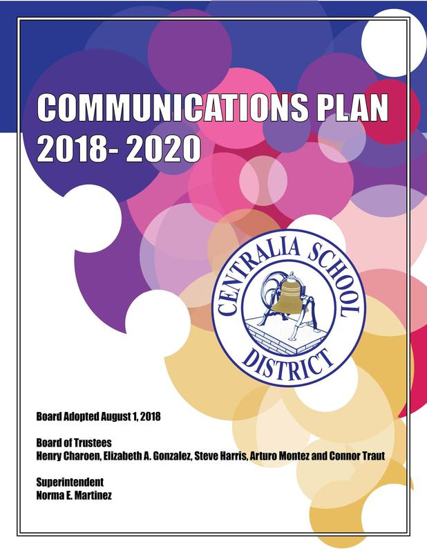 Communications Plan front page image