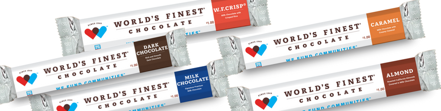 $ chocolate bars
