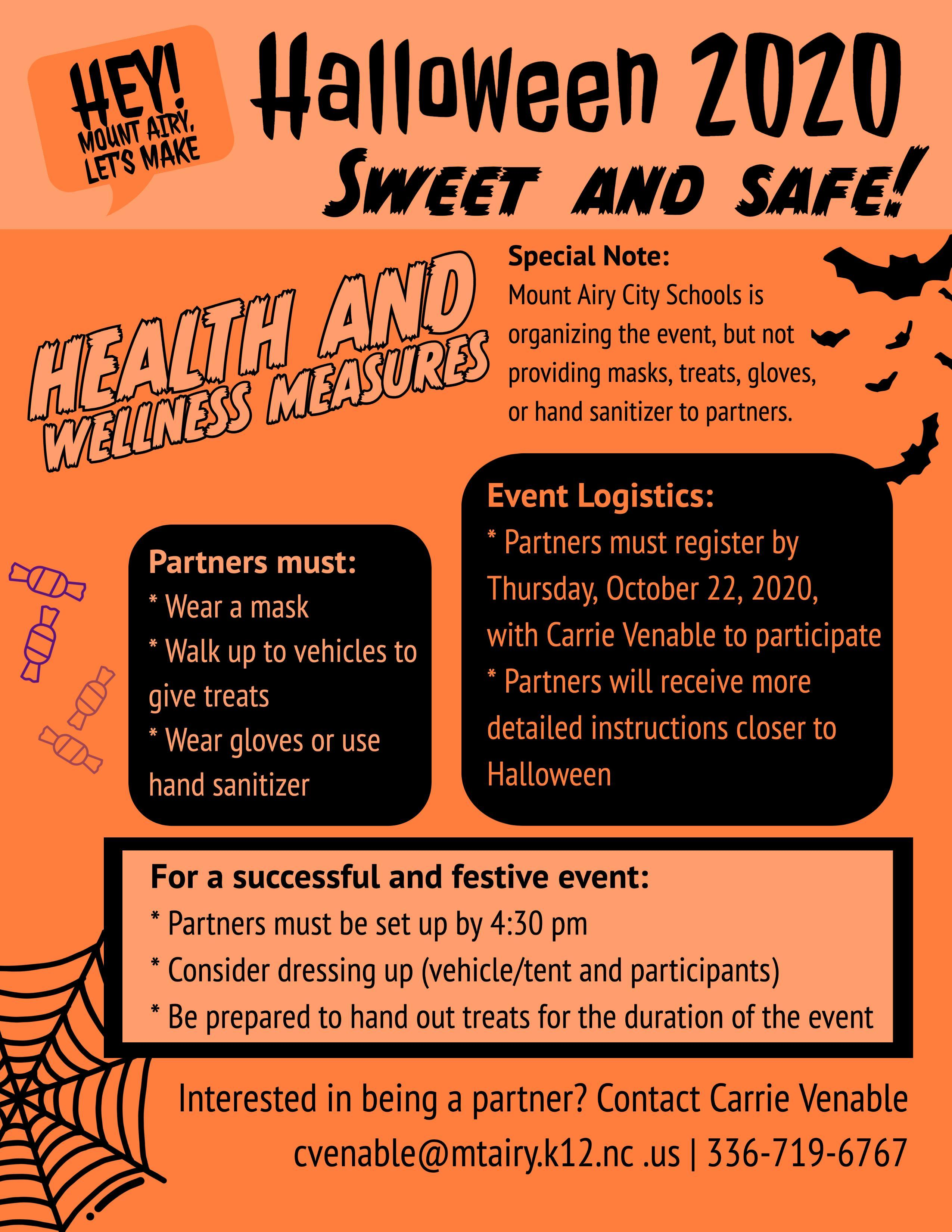 Closers Halloween Event 2020 Mount Airy City Schools