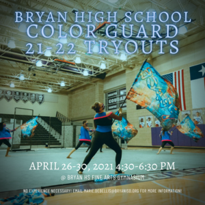 Bryan HS Color Guard TRYOUTS.png