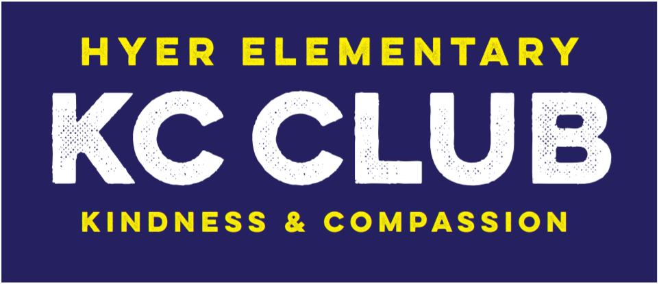 Hyer KC Club graphic for kindness and compassion