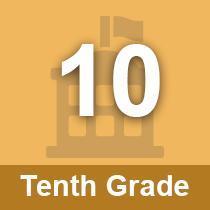 Tenth Grade button
