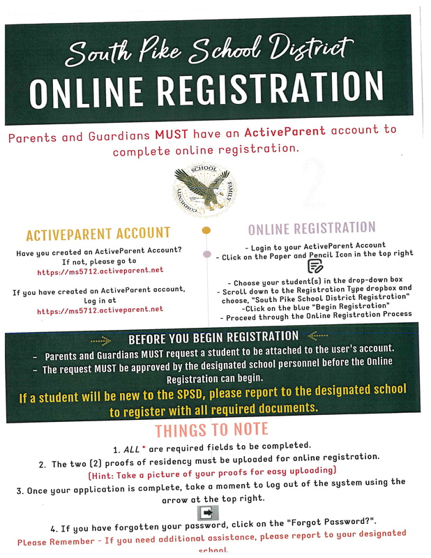 Registration Information for 2021-2022 Featured Photo