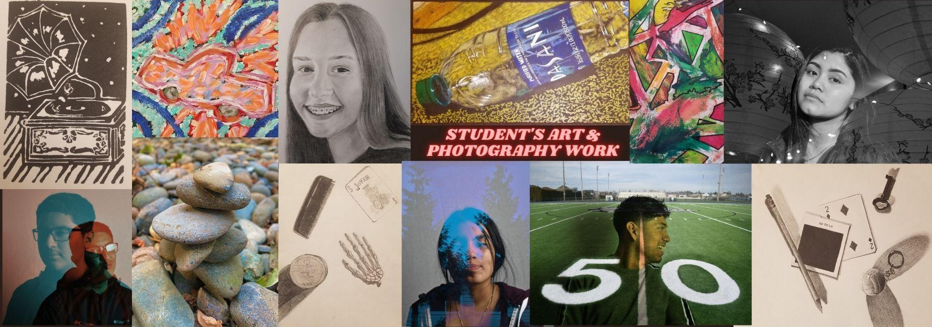 Student's Art and Photography Work