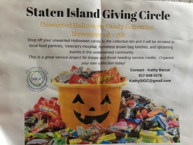 Flyer for candy collection