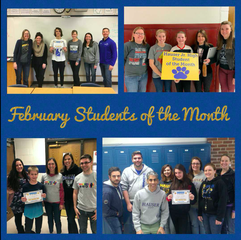 February Students of the Month! Featured Photo