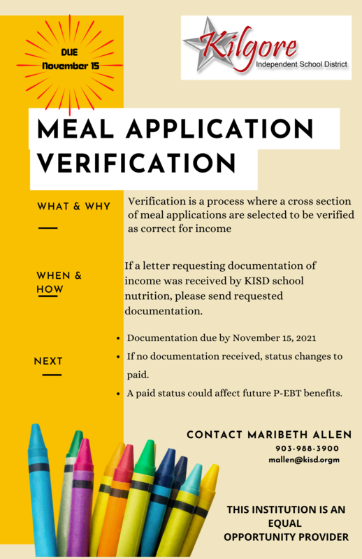 Meal Application Verification Featured Photo