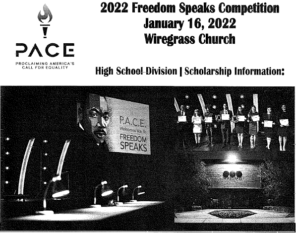 2022 Freedom Speaks Competition Scholarship
