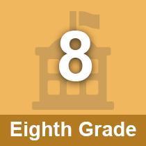Eighth Grade button