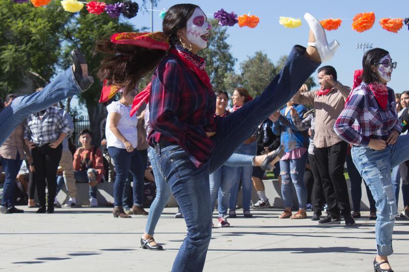 Westminster High's Día de los Muertos Festival
