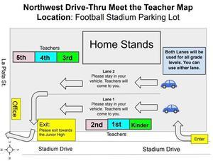 Meet the Teacher Map