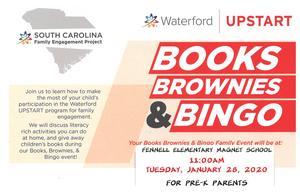 Books, Brownies and Bingo