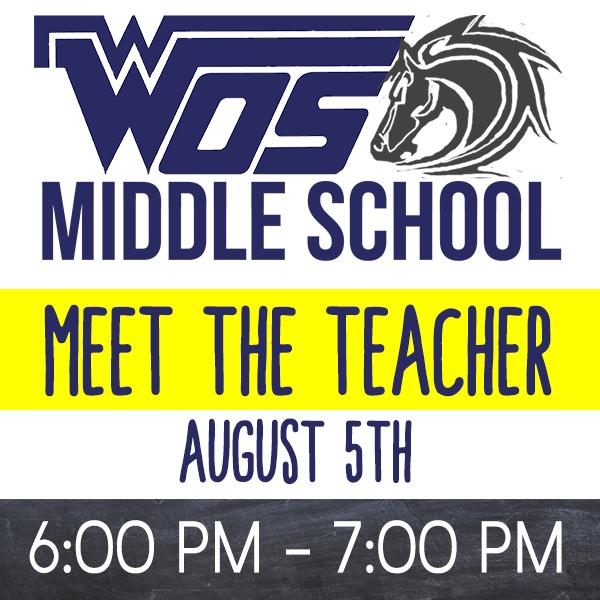 Middle School Meet the Teacher