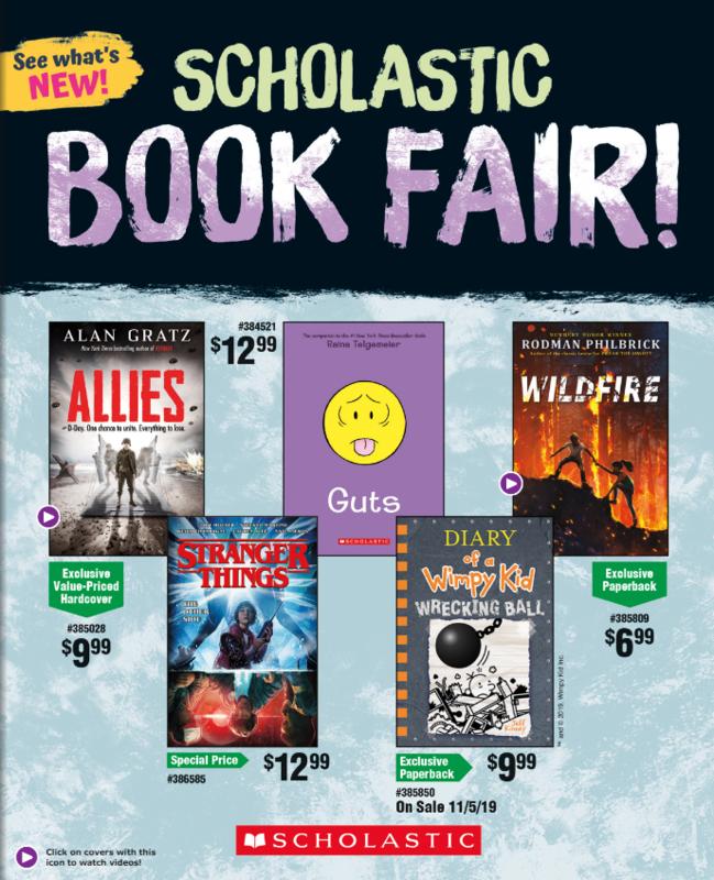 Howell Book Fair Dec. 02-06 Thumbnail Image