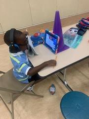 Virtual Learning at Garrett!! Image