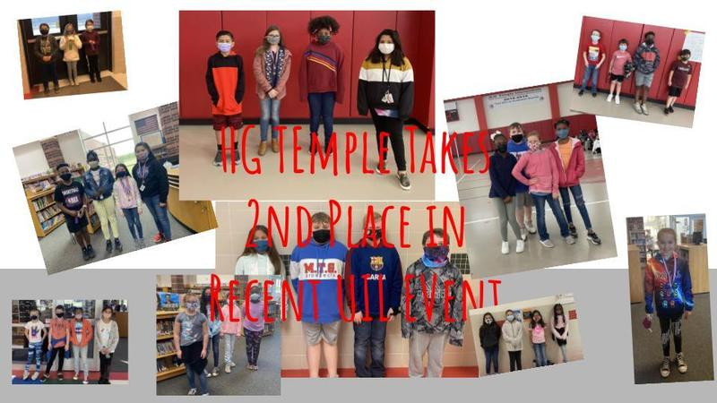 HG Temple Takes 2nd Place in Recent UIL event. Thumbnail Image