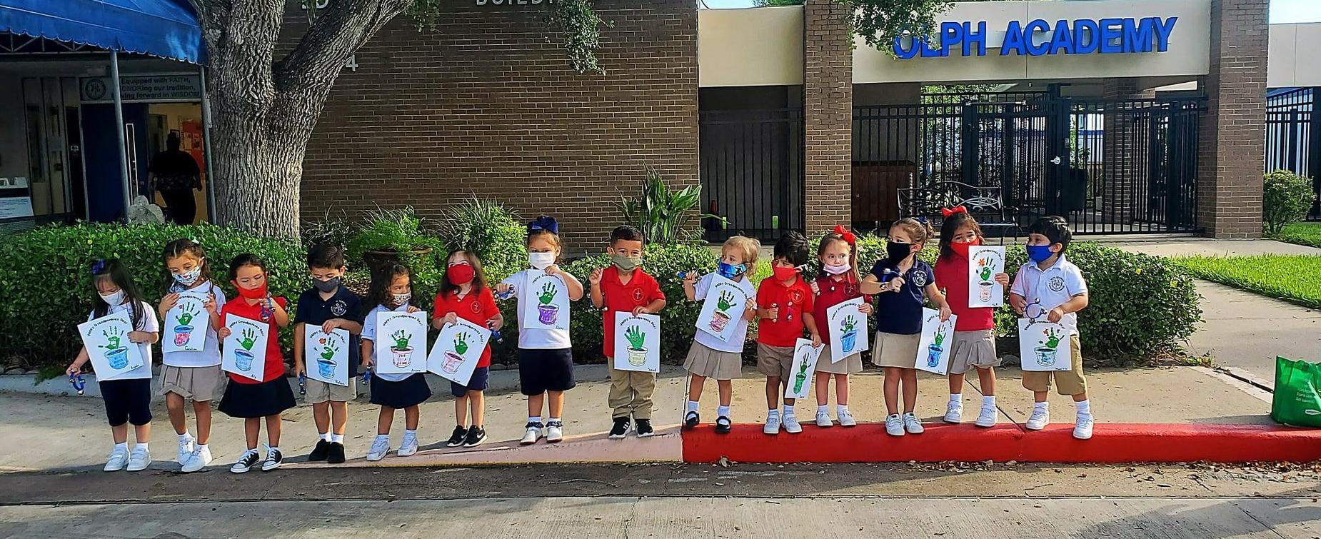 Children for parade