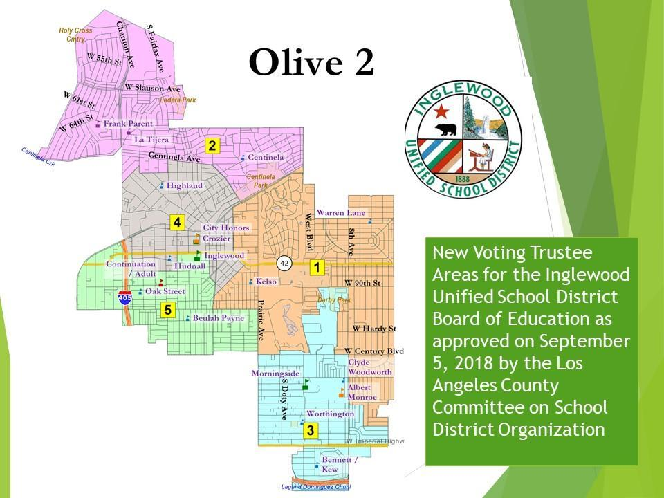 Board of Education Trustee Areas – Board – Inglewood Unified