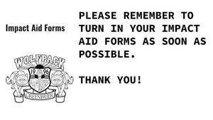 Impact aid forms