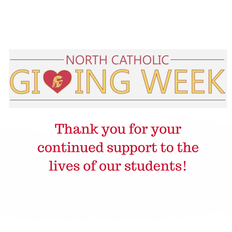Giving Week - North Catholic High School