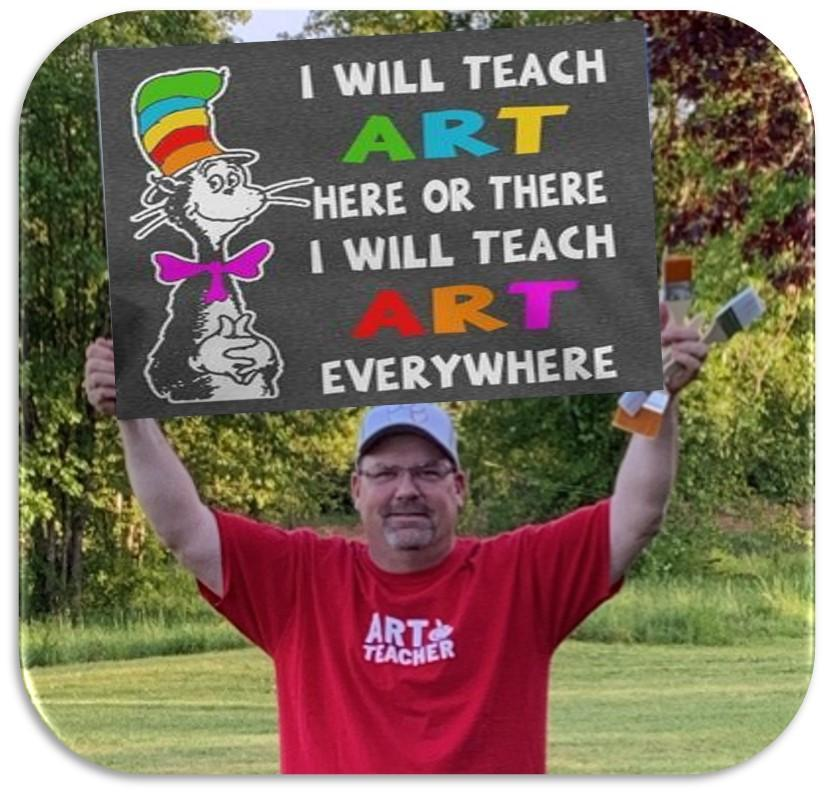 Jeff Mages Art teacher Spartanburg SC