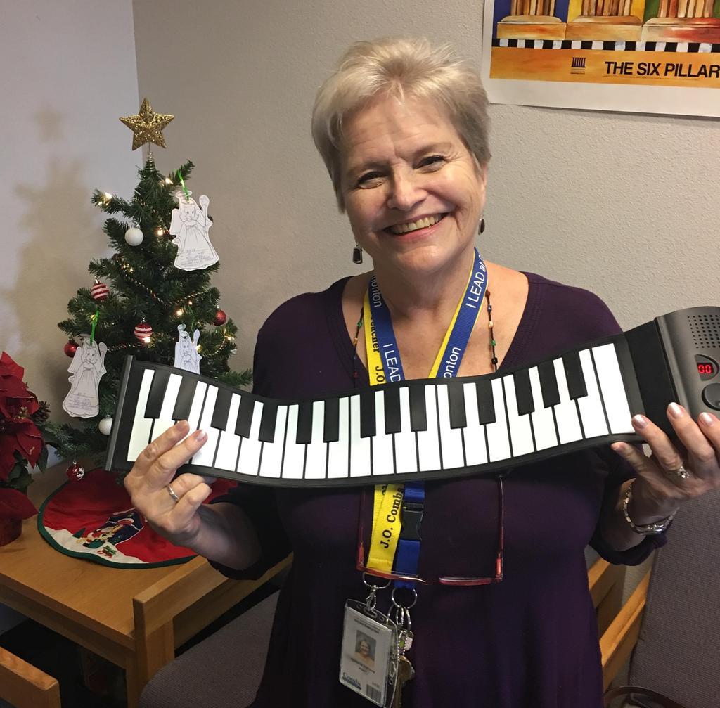 Mrs. Simpson - Music Teacher