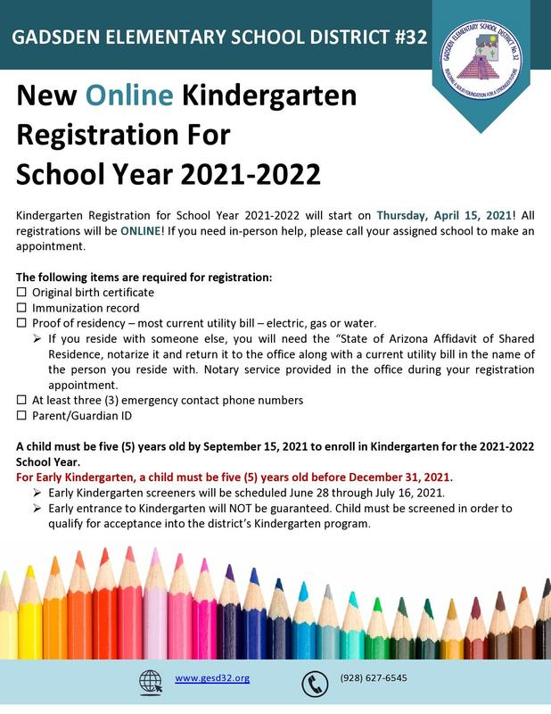 Online Registration for the  2021-2022 school year Featured Photo
