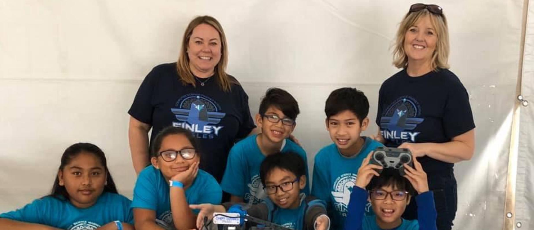 Finley's Robotics Team