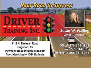 Driver Training Info