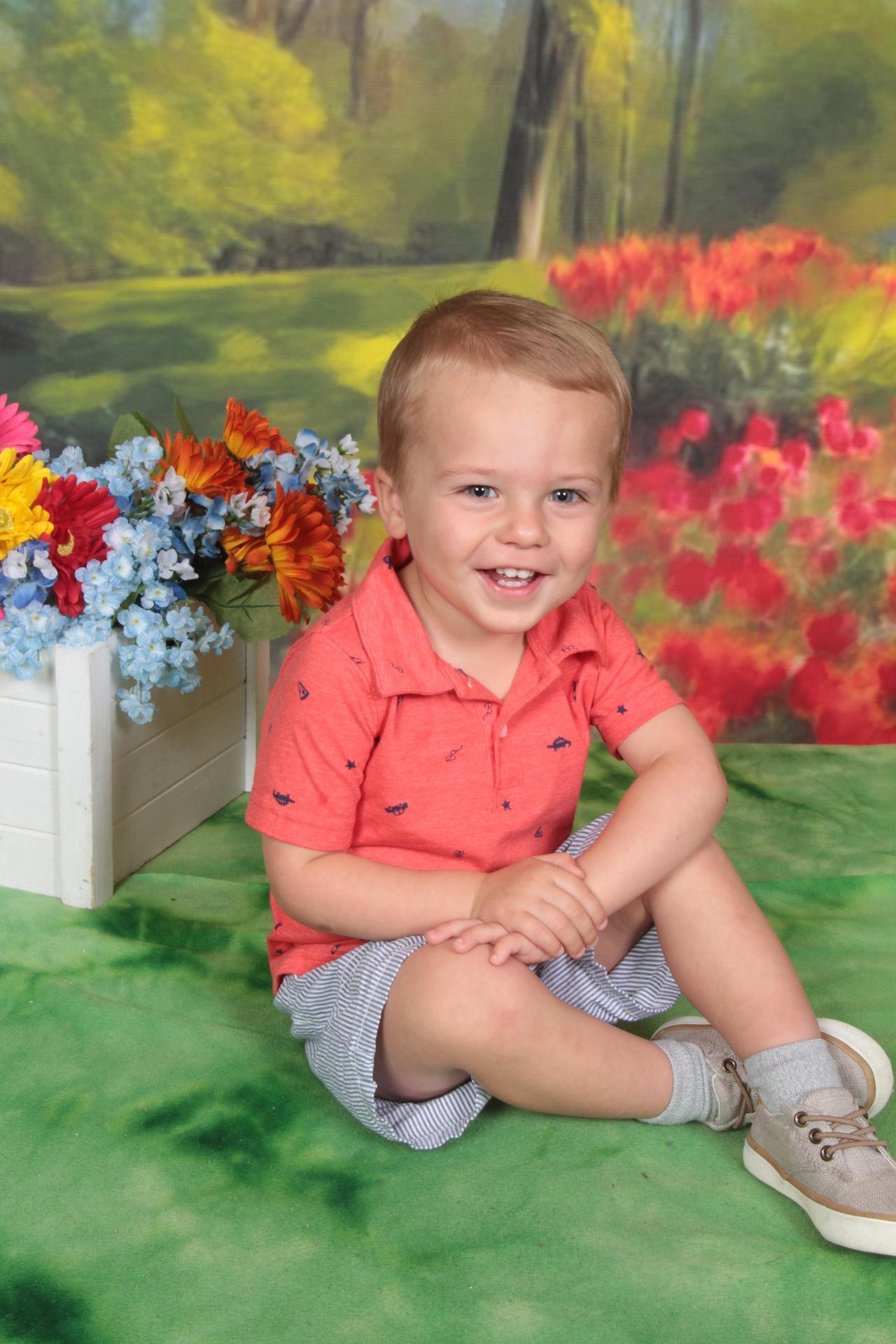 My son Preston