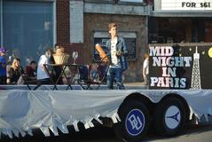 2018 Freshman Homecoming Float.