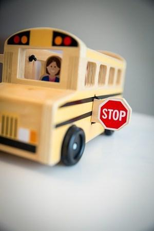 School Bus Stop Image