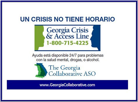 Georgia Crisis and Access Line Spanish