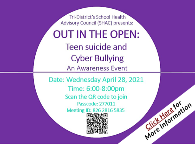 Teen Suicide and Cyberbullying Awareness Event