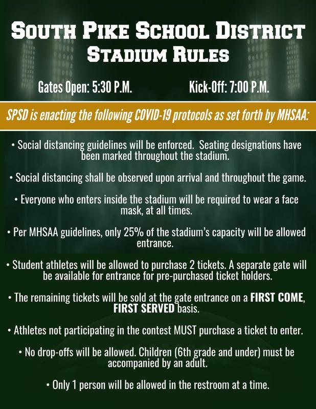 SPSD Stadium Rules