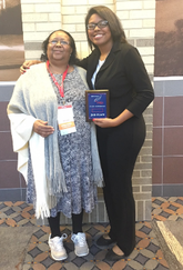 convention winner with Mrs. Kirby