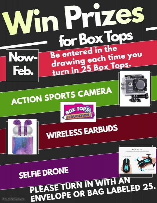 Box Top Announcement
