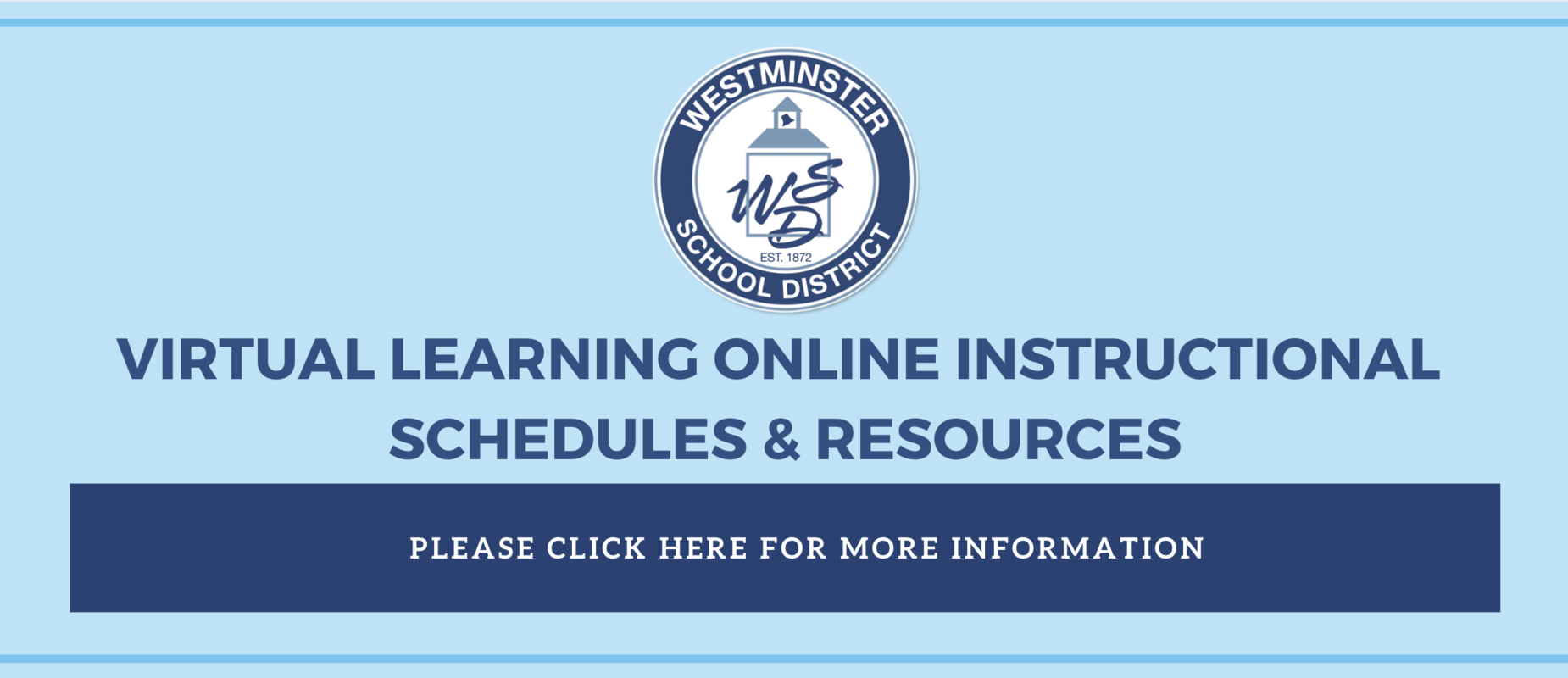 Virtual Learning Online Instructional Schedules and Resources