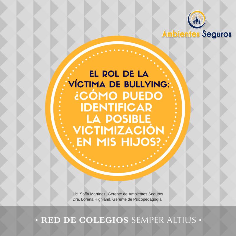 El rol de la víctima de bullying: ¿cómo puedo identificar la posible victimización en mis hijos? Featured Photo