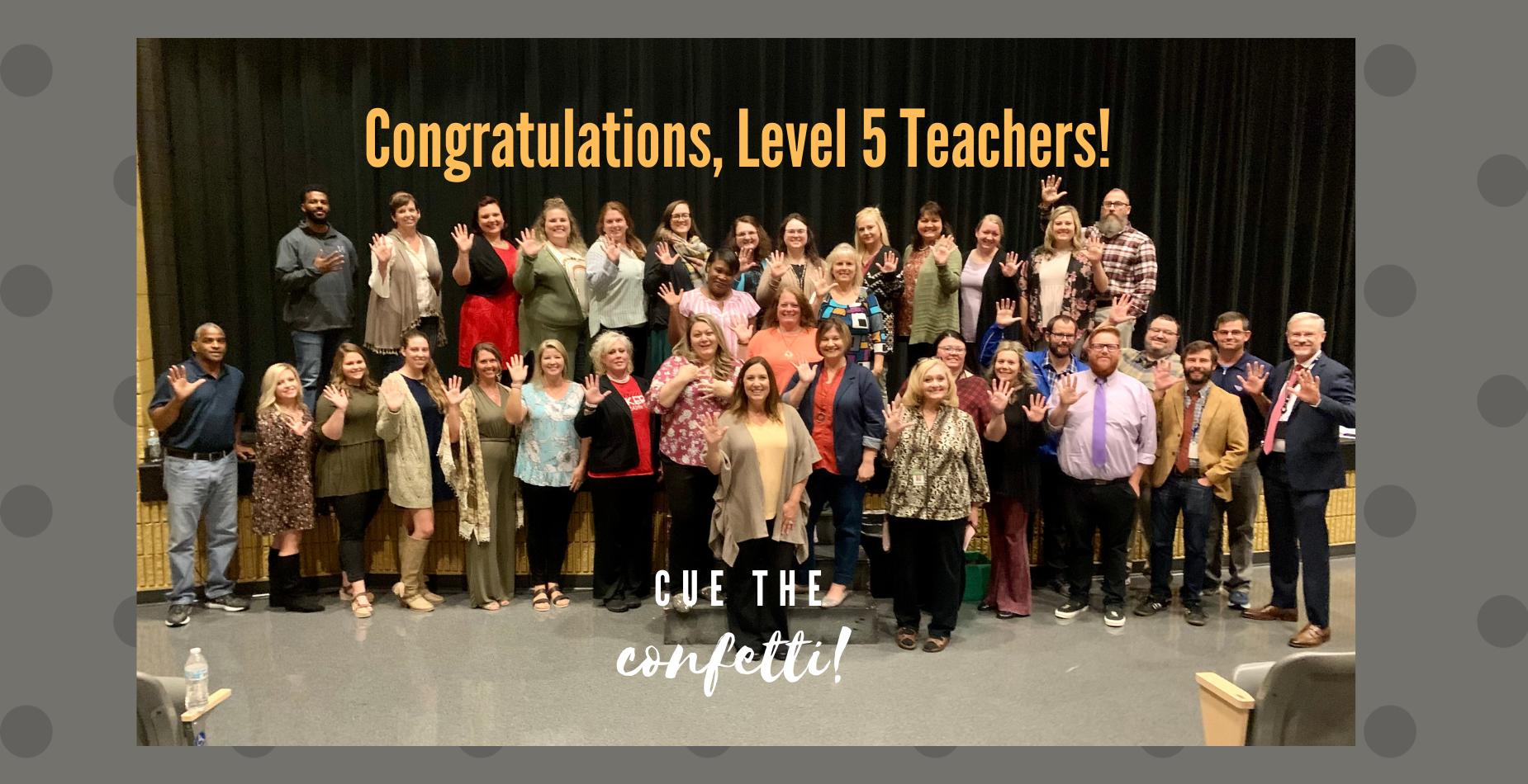 Level 5 Teachers
