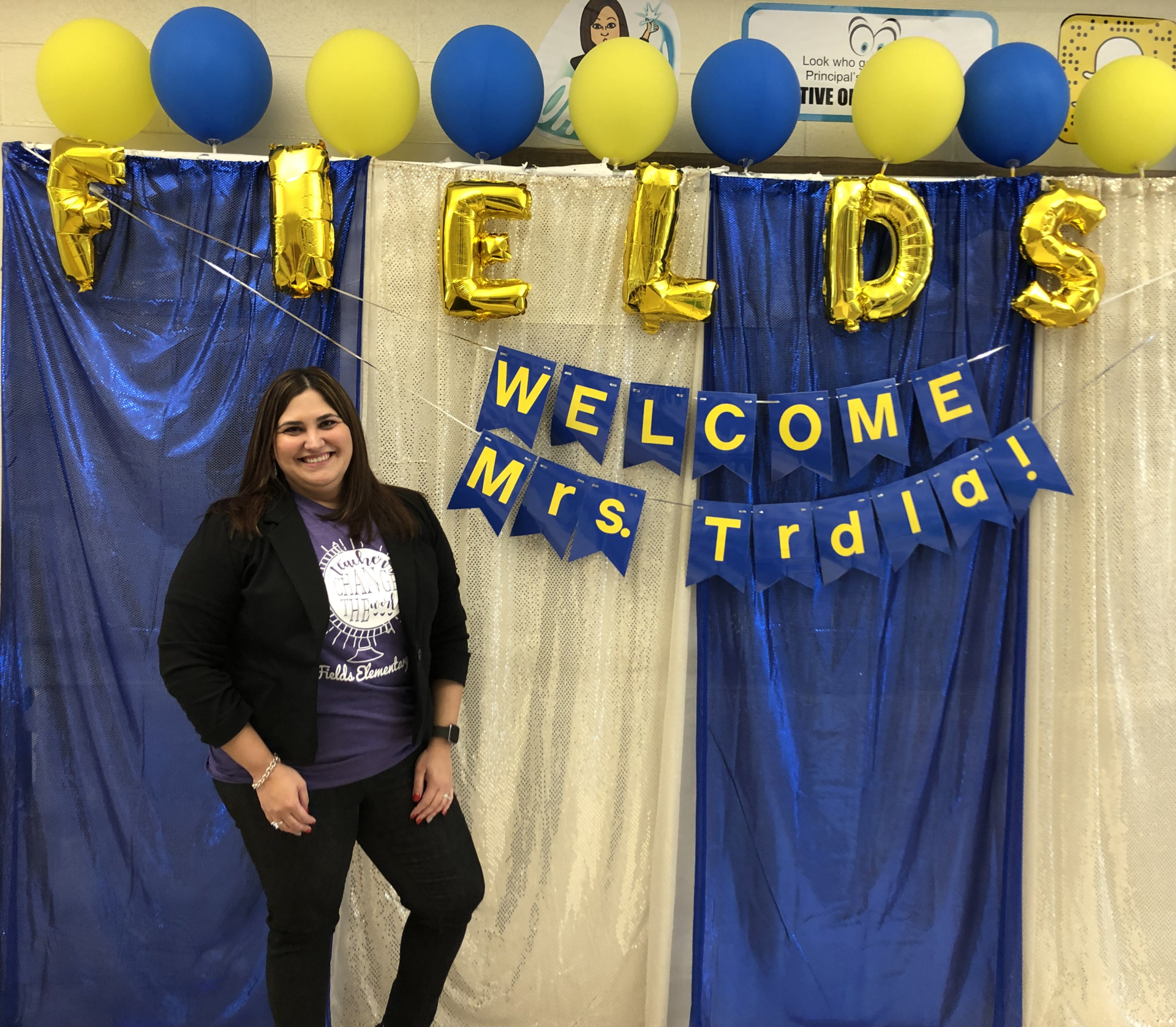 Mrs. Trdla - Principal