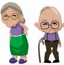 100th Day of School - Old Folks