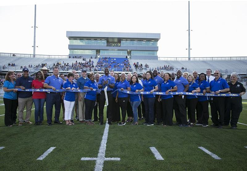 Sheldon ISD Panther Stadium Ribbon Cutting, 8/21/19