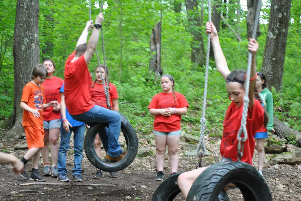 Camp Obstacle Course